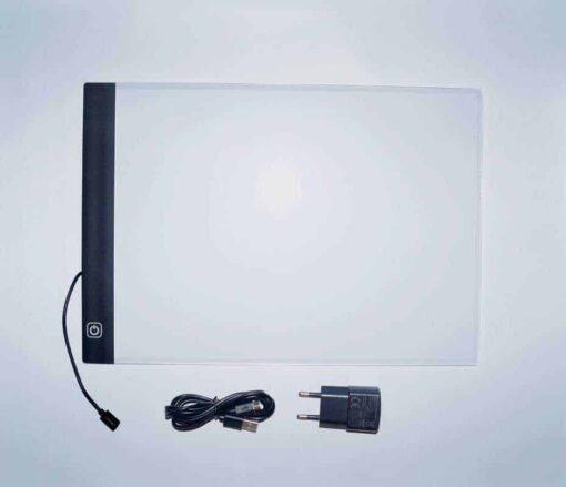 SEOS Shop a4 led licht bord